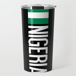 Nigeria: Nigerian Flag & Nigeria Travel Mug