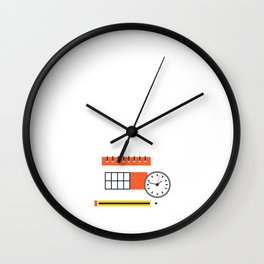 One Day Closer to Graduation High School Senior Wall Clock