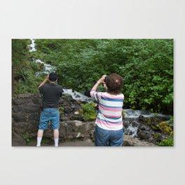 Wahkeena Falls, Ore. (2013) Canvas Print