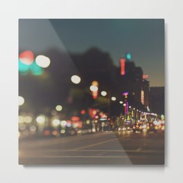 Hollywood Boulevard. Los Angeles Metal Print