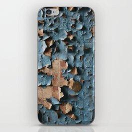 Peeling Paper Texture iPhone Skin