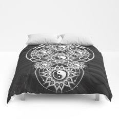 Seven Yin Yang Symmetry Balance Energy Comforters