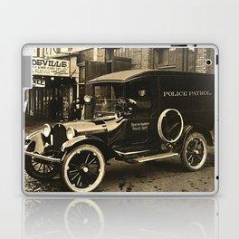 Vintage Police Car Laptop & iPad Skin
