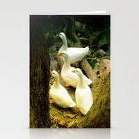 duck Stationery Cards featuring duck by gzm_guvenc