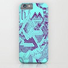 Turquoise Geo Slim Case iPhone 6s
