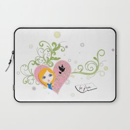 Be Free To Be Yourself Laptop Sleeve