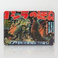 godzilla iPad Cases featuring Godzilla by Golden Boy