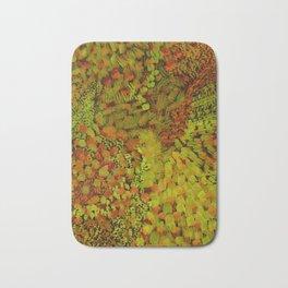 Autumn Field Watercolor Bath Mat