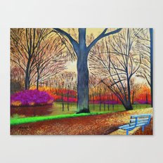 Wonderful colors of fall Canvas Print