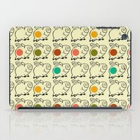 pigs iPad Cases featuring pigs by ururuty