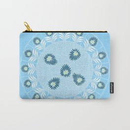 Blue Girl Scout Patch Carry-All Pouch