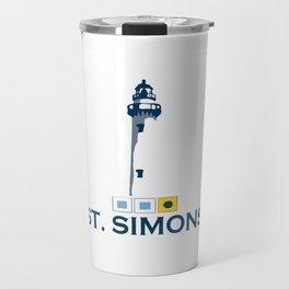St. Simons Island - Georgia. Travel Mug
