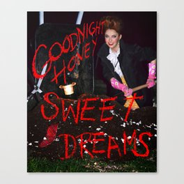 Goodnight Honey Canvas Print