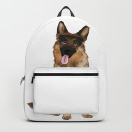 German Shepherd Backpack