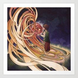 Calcifer Art Print