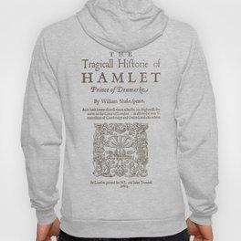 Shakespeare, Hamlet 1603 Hoody