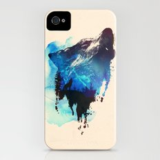Alone as a wolf iPhone (4, 4s) Slim Case