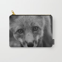 The Fox (Black and White) Carry-All Pouch