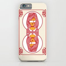 custom playing cards back (red) Slim Case iPhone 6s