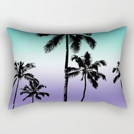 Alexandrite tropical palms Rectangular Pillow