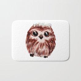 little owl - petite chouette Bath Mat