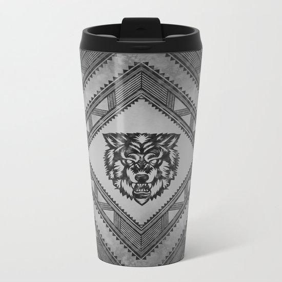 The Wolf Metal Travel Mug