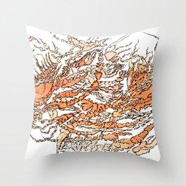 crawcrust Throw Pillow