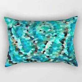 Mermaid Fish Tail Scales Rectangular Pillow