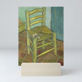 Van Gogh's Chair Mini Art Print