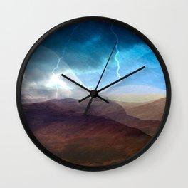 Desert Storm Wall Clock