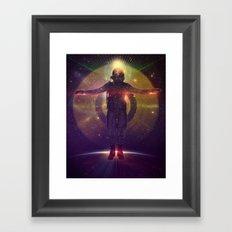 Space Oddity Framed Art Print