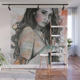 You Lied (nude girl with mandala tattoos) Wall Mural