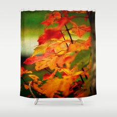 Tumble Down Fire Shower Curtain