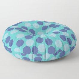 Hundred's and Thousand's - Aqua Floor Pillow