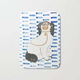 BESPECTACLED on BLUE Bath Mat