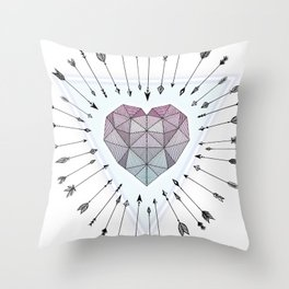 Young & Unafraid Throw Pillow