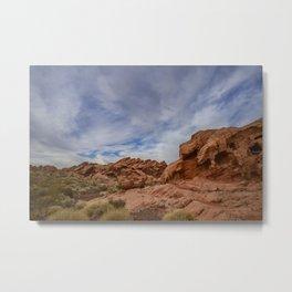 2770 - Redstone Trailhead, Lake Mead Nat'l Recreation Area, NV Metal Print