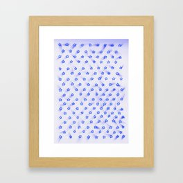 Estrellitas la la la Framed Art Print