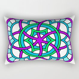Celtic | Colorful | Mandala Rectangular Pillow