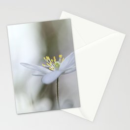 Adorable Wood Anemone... Stationery Cards