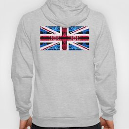 circuit board United Kingdom (flag) Hoody