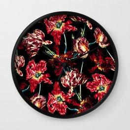 NIGHT GARDEN XXVI Wall Clock