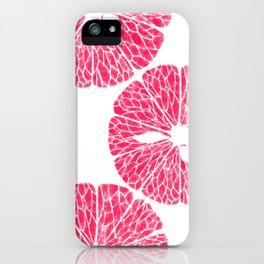 grapefruit 1 iPhone Case