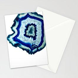Inkdrop Agate slice Stationery Cards