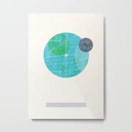 Earth I Metal Print
