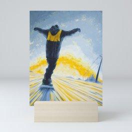 Salute The Sun Mini Art Print