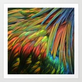 Color in Birdworld Art Print