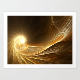 Golden Spiral Art Print