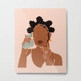 Mo' Money, No Problems Metal Print