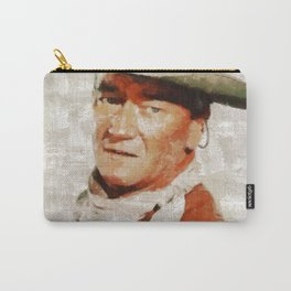 John Wayne by MB Carry-All Pouch